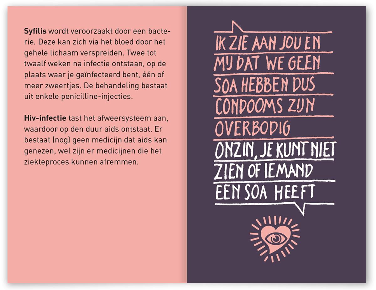 Spiekboekje over veilig vrijen & plezier in seks - GGD Haaglanden
