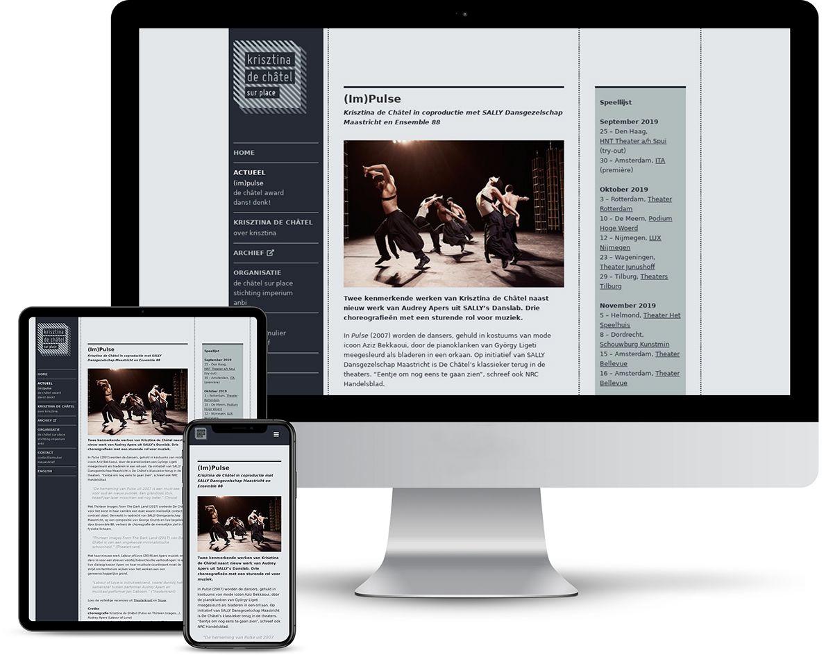 Website Krisztina de Châtel