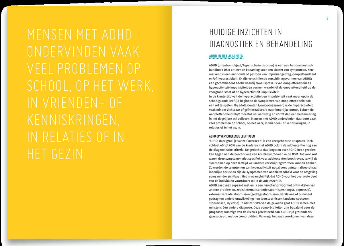 ADHD, een update - gids voor Vrije Universiteit (VU), Amsterdam