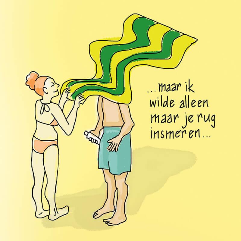 Illustratie poster GGD Haaglanden